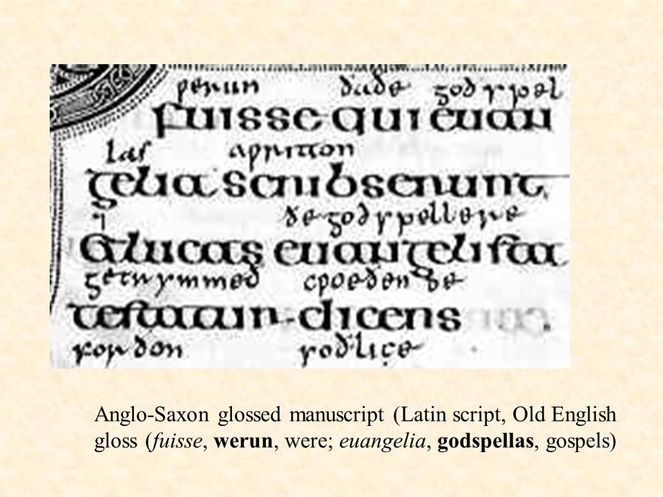 Periods of English Old English (ca ): Beowulf - ppt video