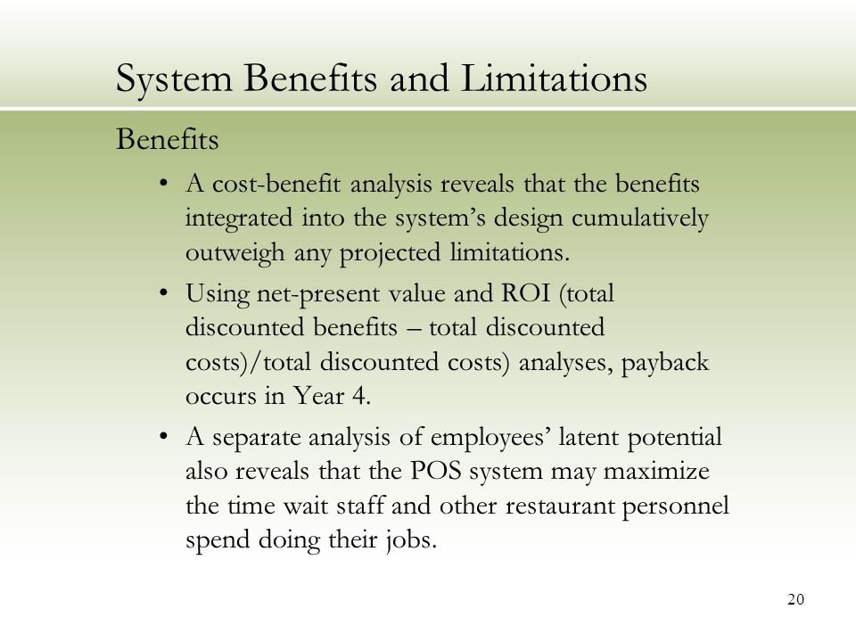 It Project Management Class Project Of A Point Of Sale Pos System Implementation In A Restaurant Amber Gillum Mohammad A Rob University Of Houston Ppt Video Online Download
