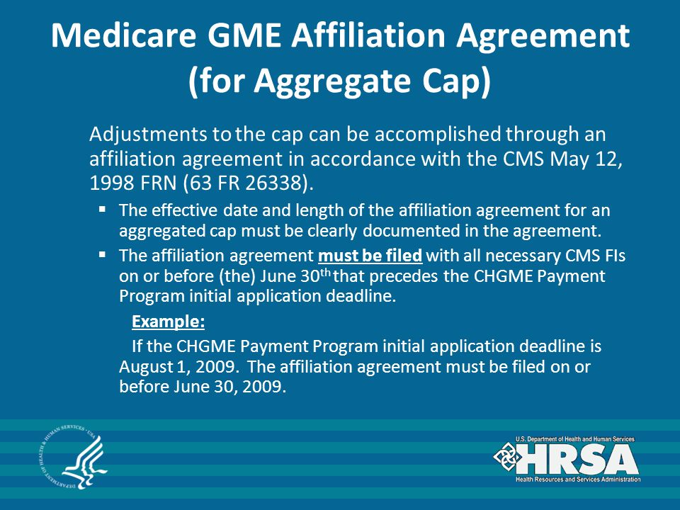 The A, B, C's of the CHGME Payment Program From Policy to Payments