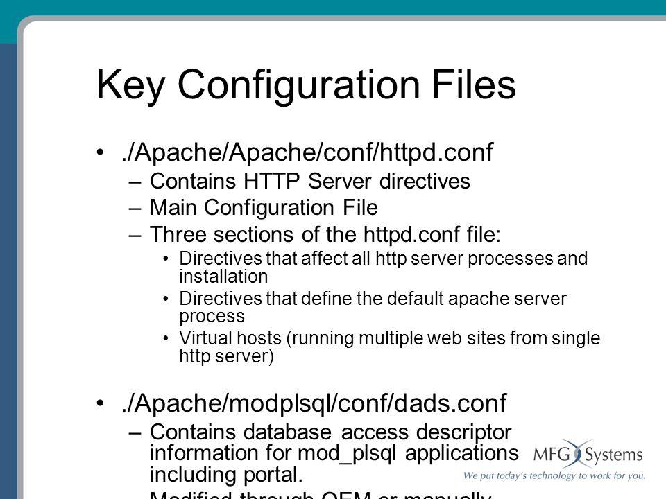 Oracle 9I Application Server Release 2 – Basic