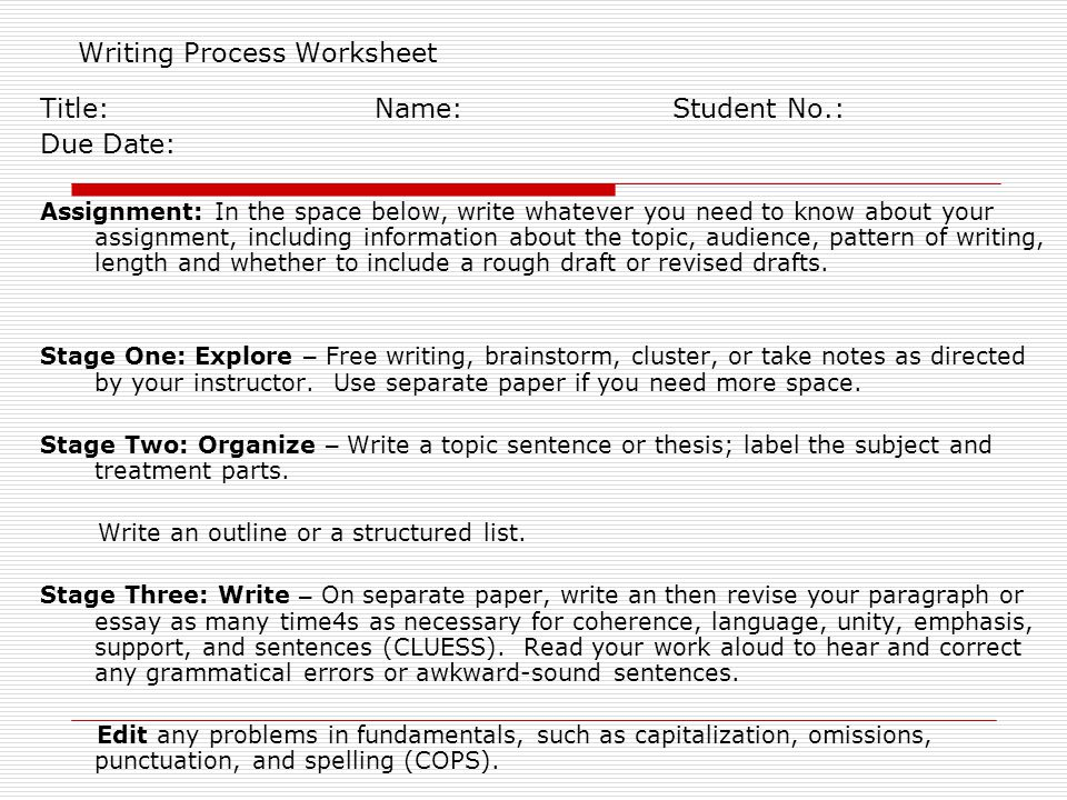 Fundamental writing skills instructor hsin hsin cindy lee phd writing process worksheet ibookread ePUb