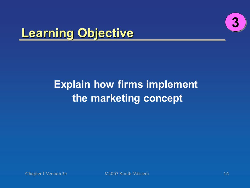 Explain how firms implement