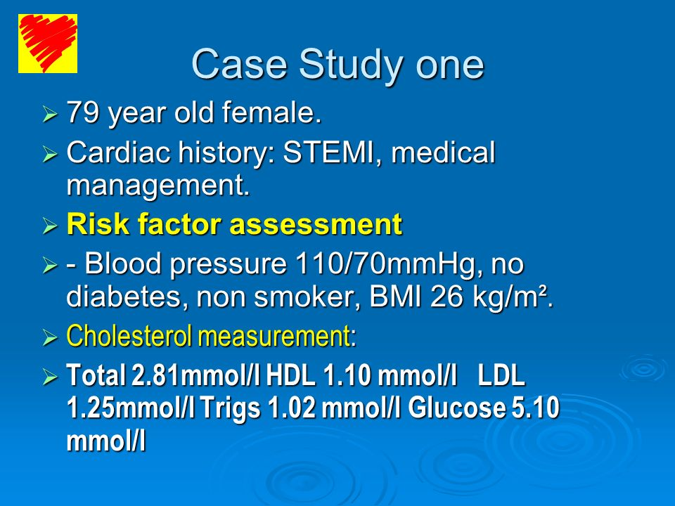 Case Study one 79 year old female.