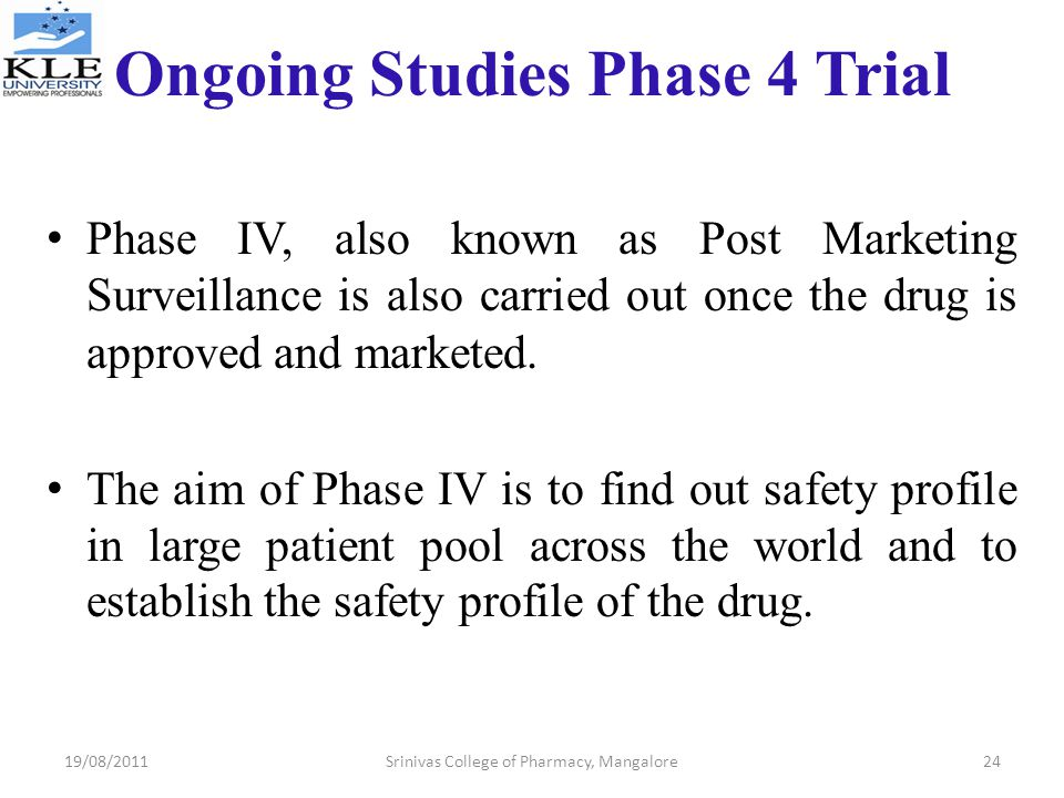 Ongoing Studies Phase 4 Trial