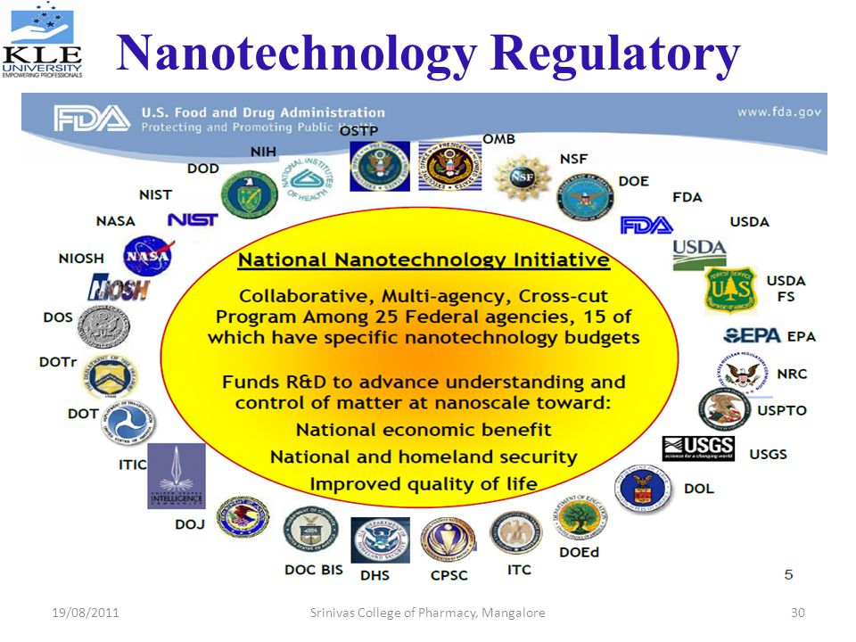 Nanotechnology Regulatory