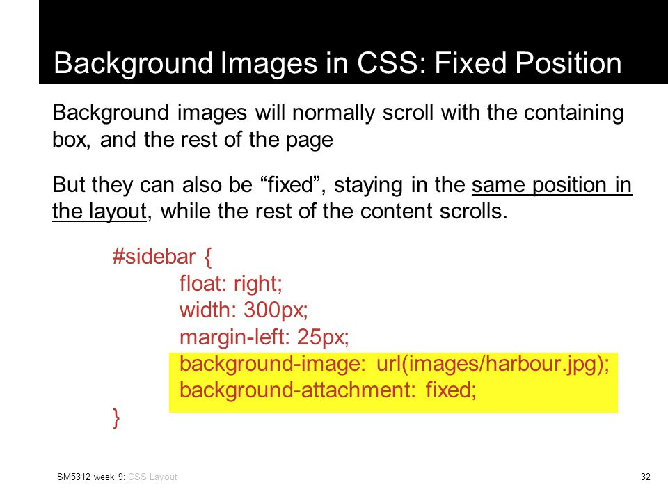 An Introduction to Cascading Style Sheets CSS Layout, and the CSS