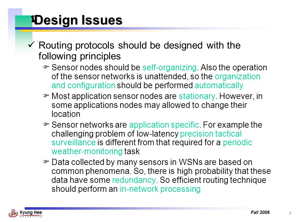 Routing protocolsin wireless sensor network.