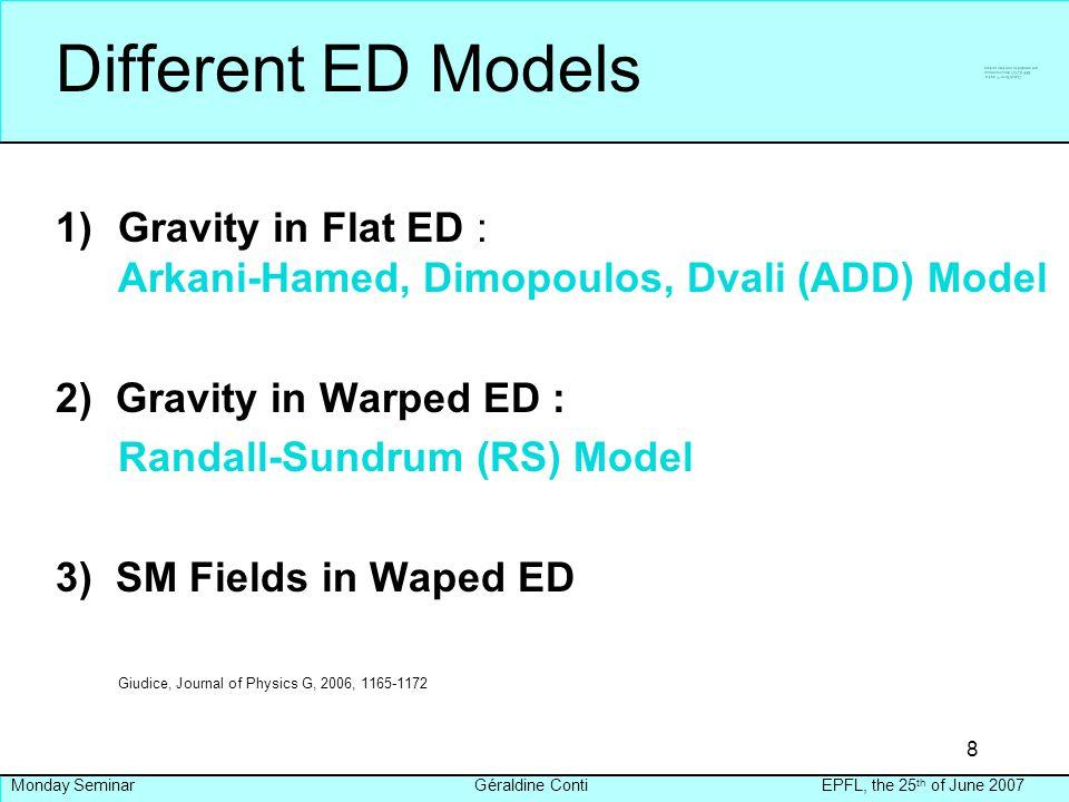 Extra Dimensional Models - ppt video online download