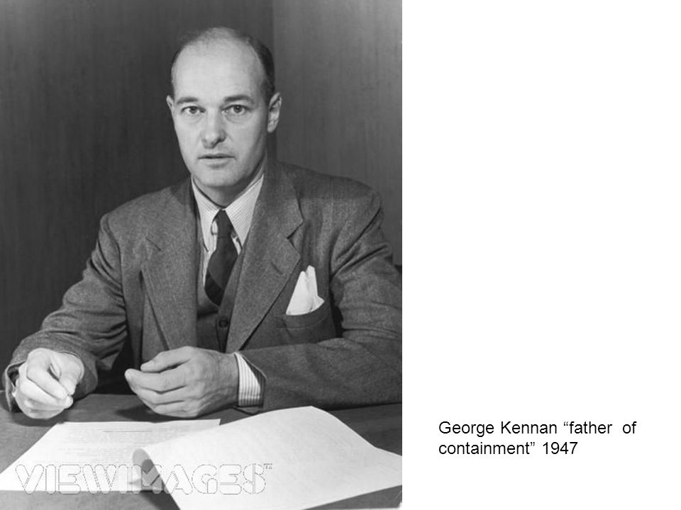 George Kennan father of containment 1947