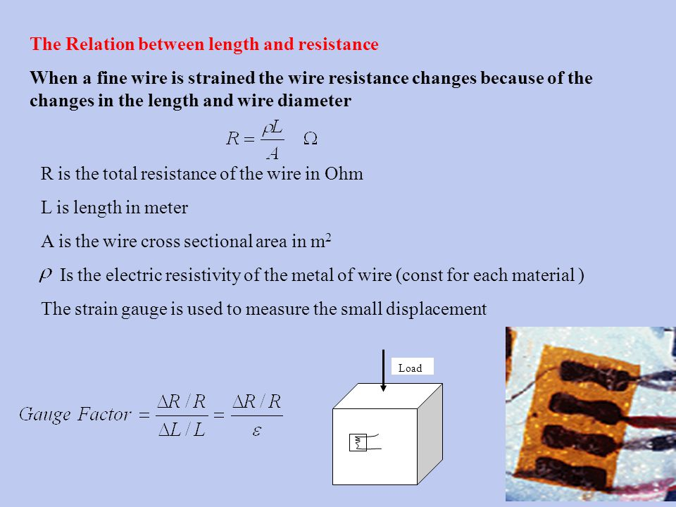 Course module description ppt download the relation between length and resistance greentooth Image collections