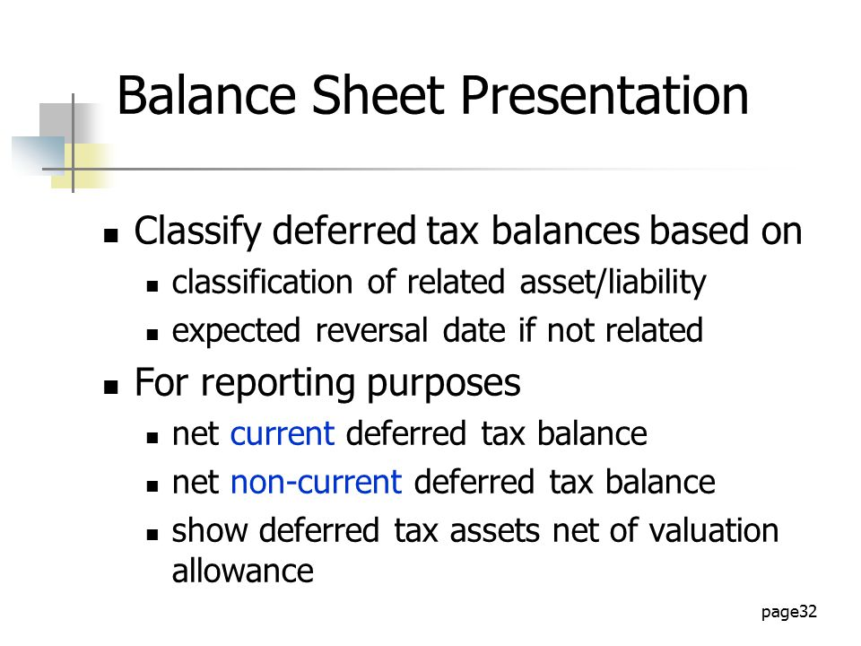 Topic 5 slides accounting for income tax.