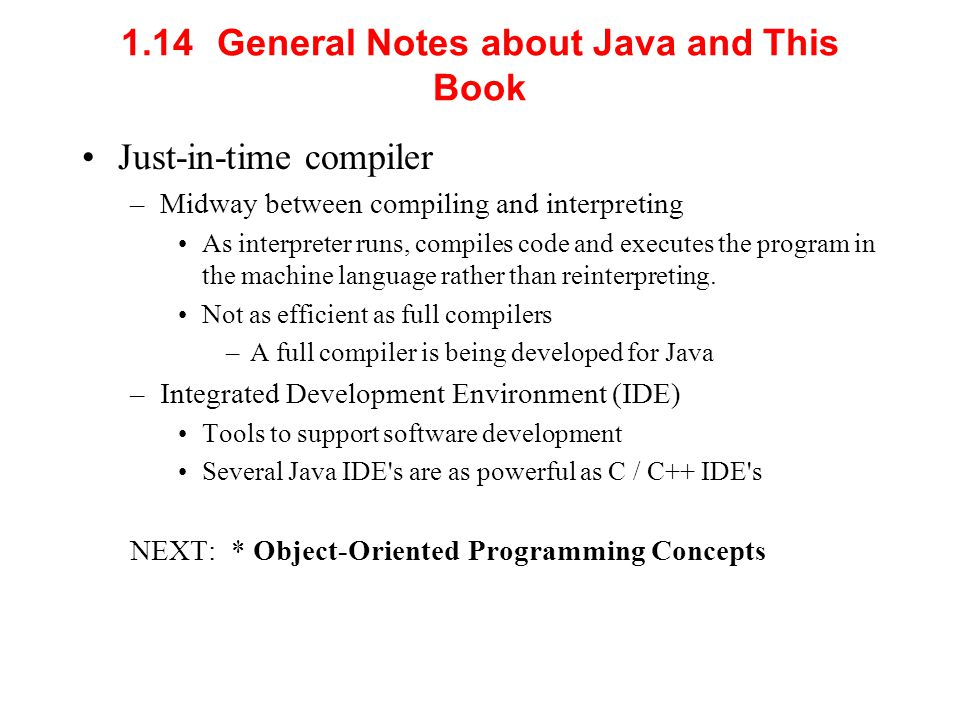1.14 General Notes about Java and This Book