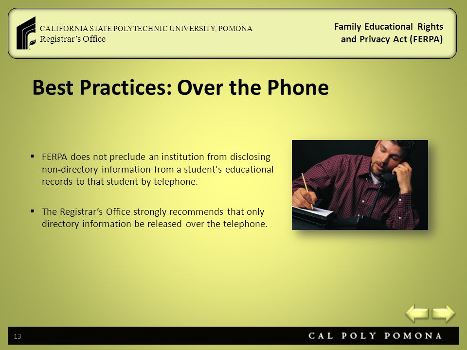 Best Practices: Over the Phone