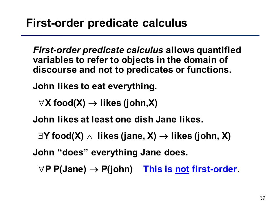 What is the correct representation of the stmt in first-order.