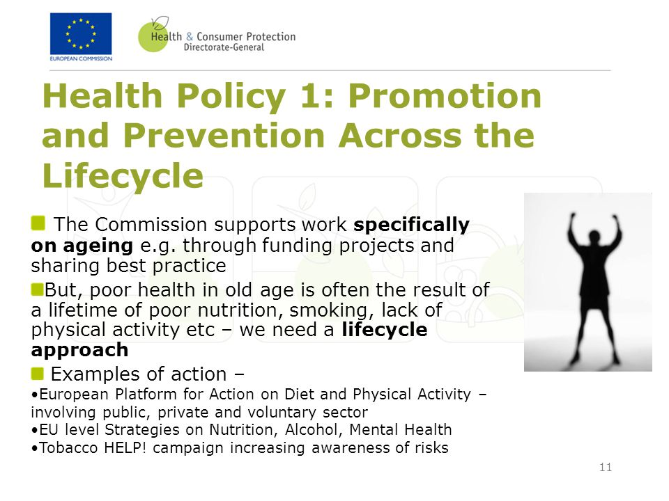 Health Policy 1: Promotion and Prevention Across the Lifecycle