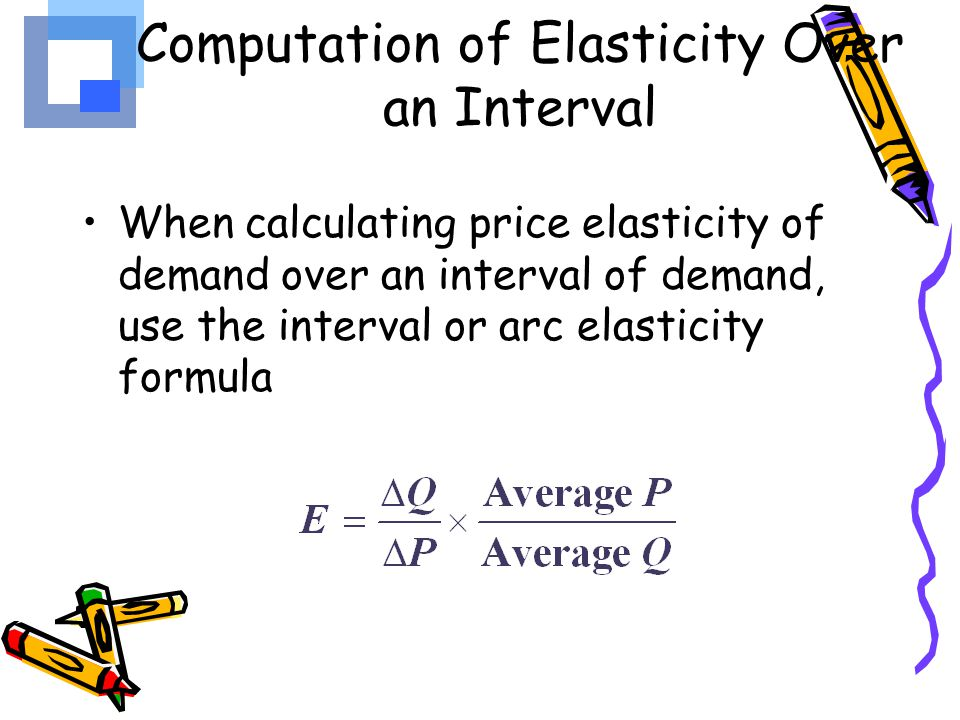 arc elasticity equation