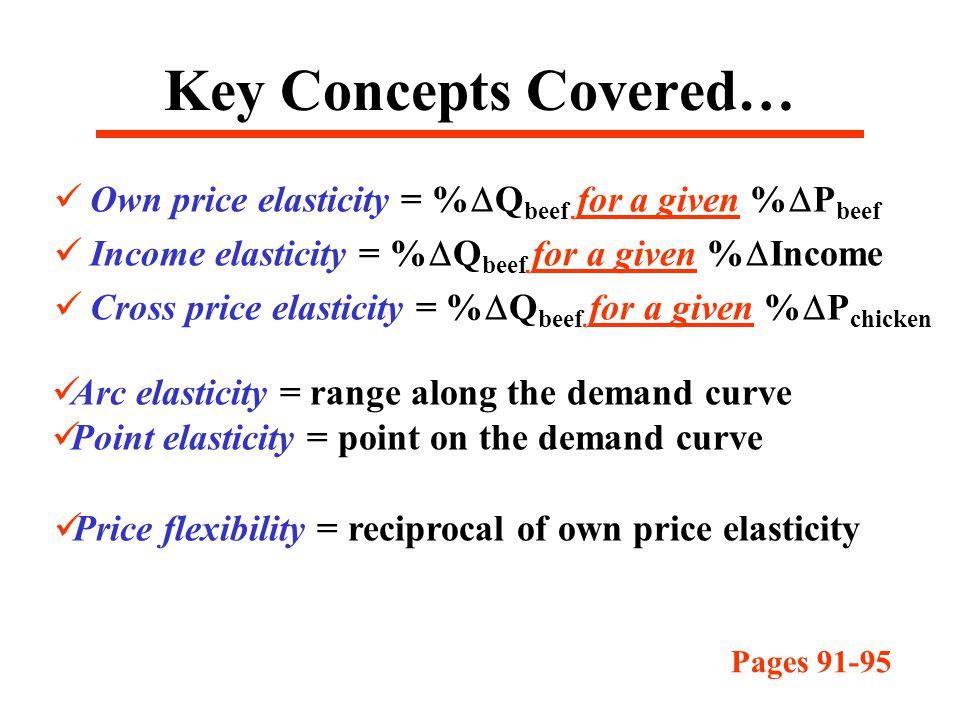 Measurement And Interpretation Of Elasticities Ppt Download