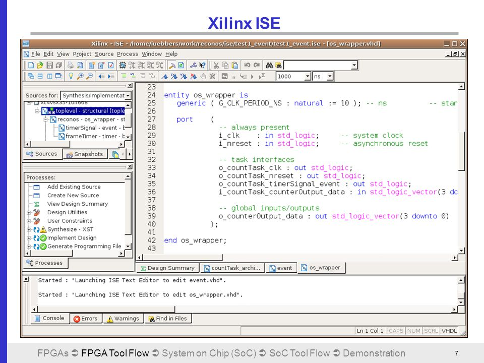 Configurable System-on-Chip: Xilinx EDK - ppt video online