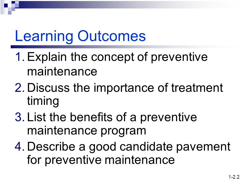 Preventive Maintenance - ppt video online download