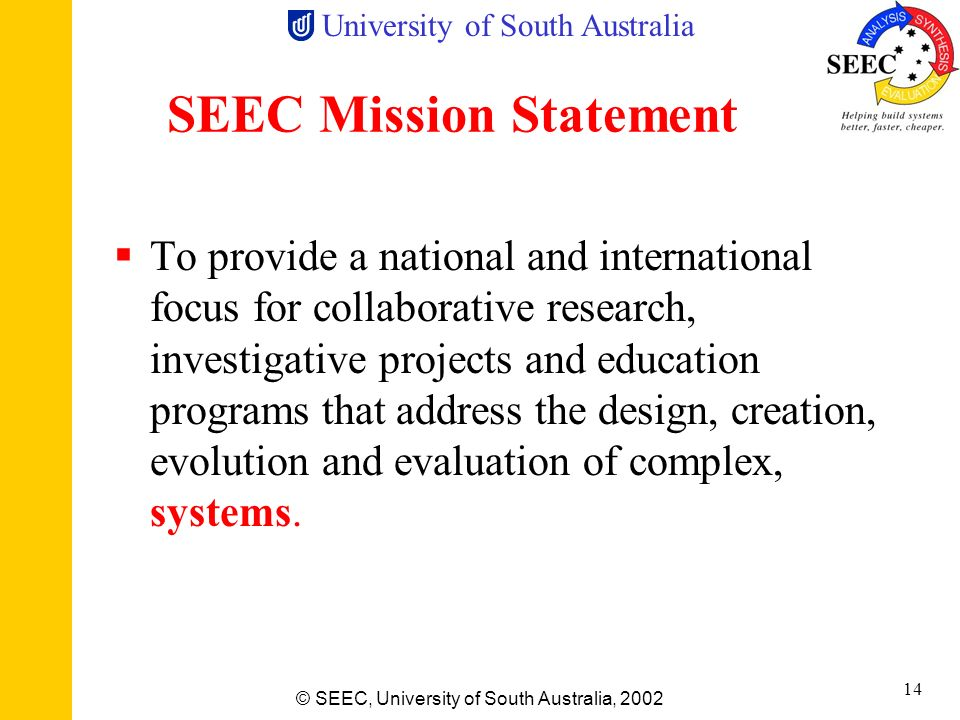 SEEC Mission Statement
