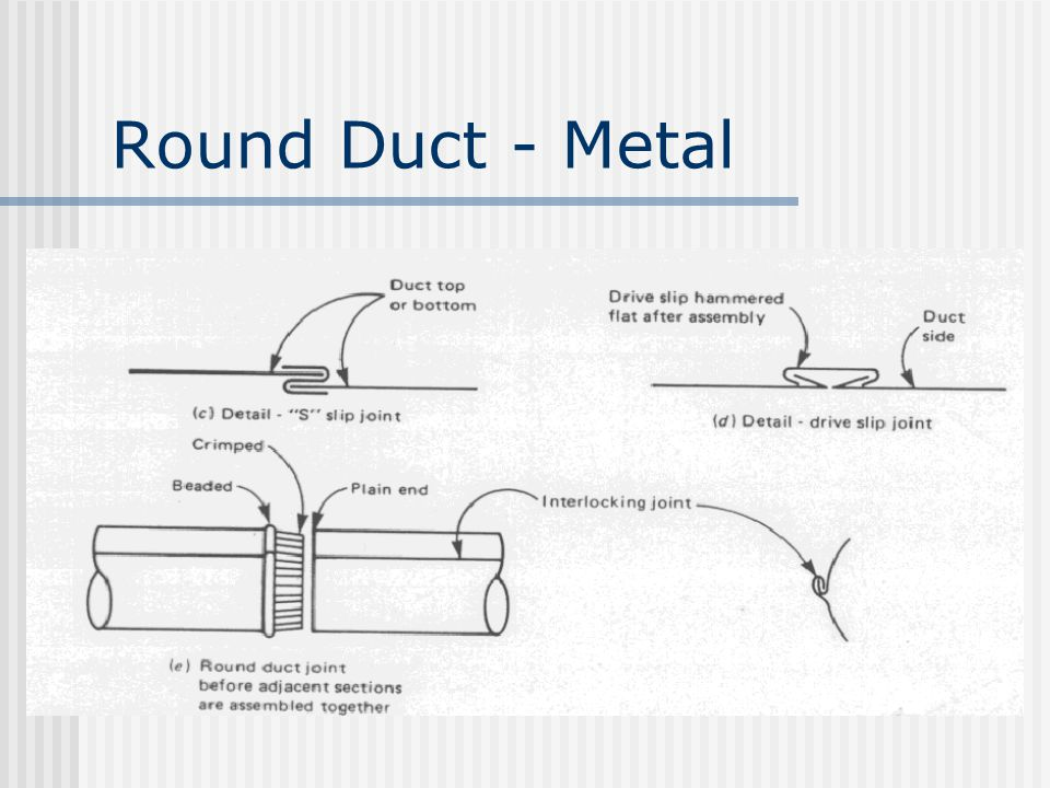 Round Duct - Metal