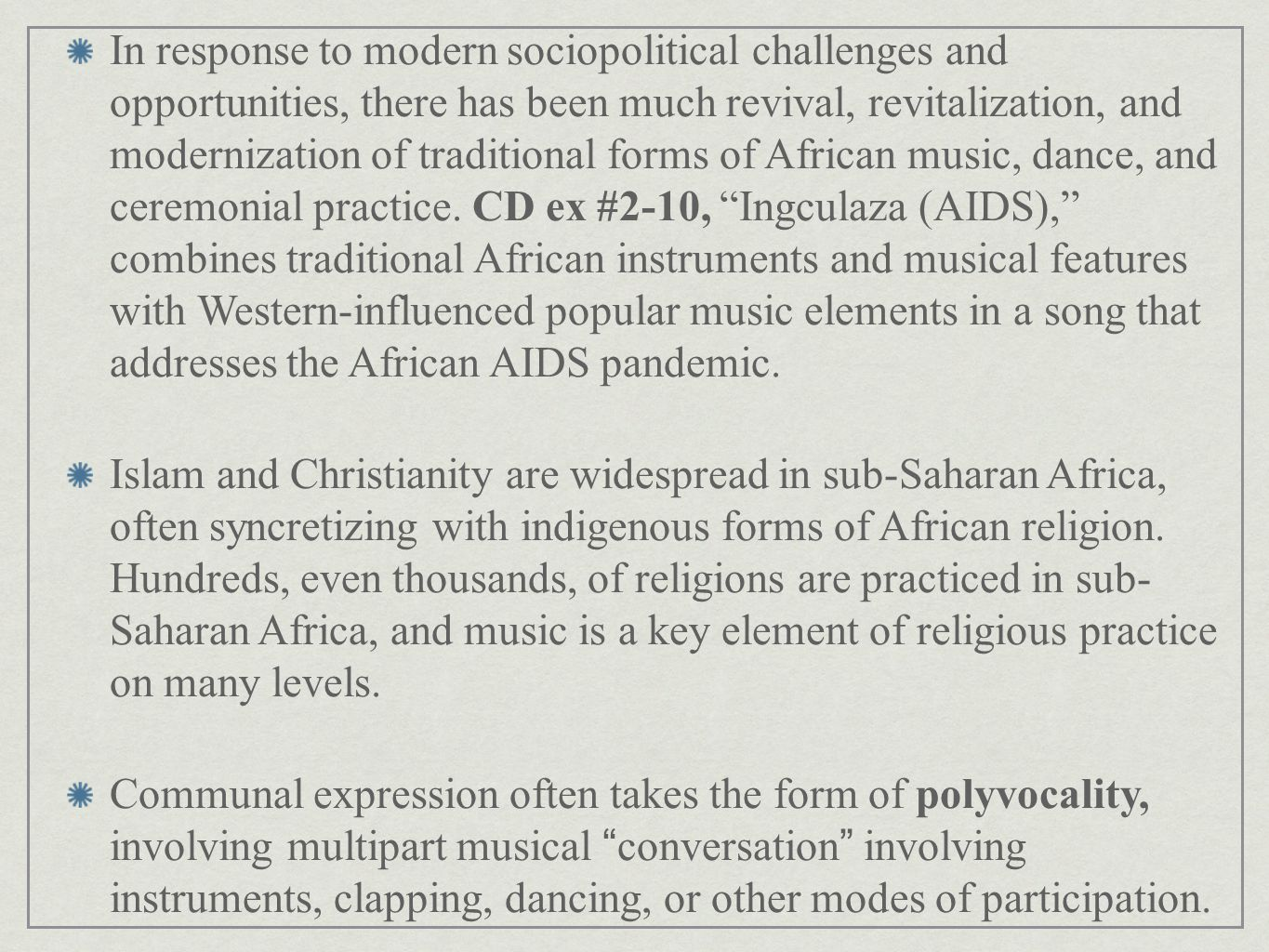 African Musics in Context - ppt video online download