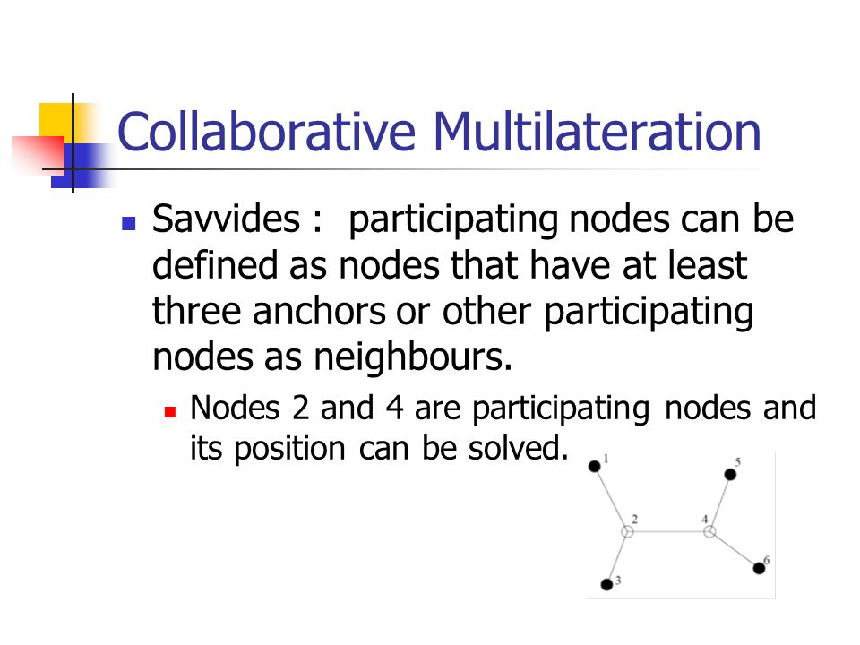 Collaborative Multilateration