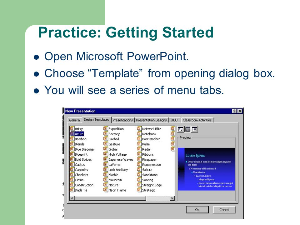 Introduction to mid fi prototyping with powerpoint ppt video 10 practice getting started toneelgroepblik Images