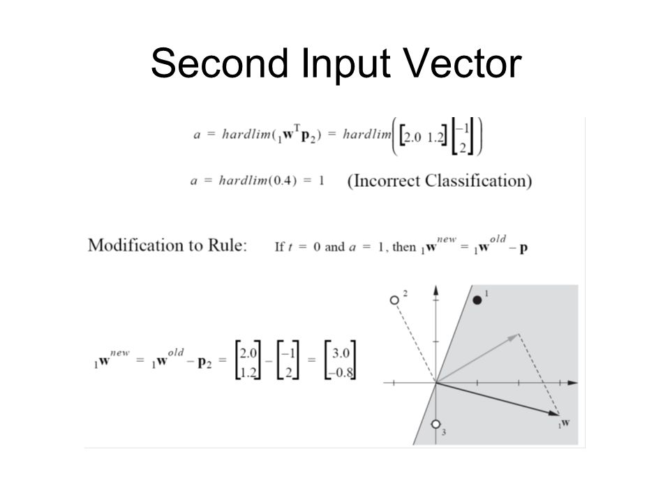 Second Input Vector