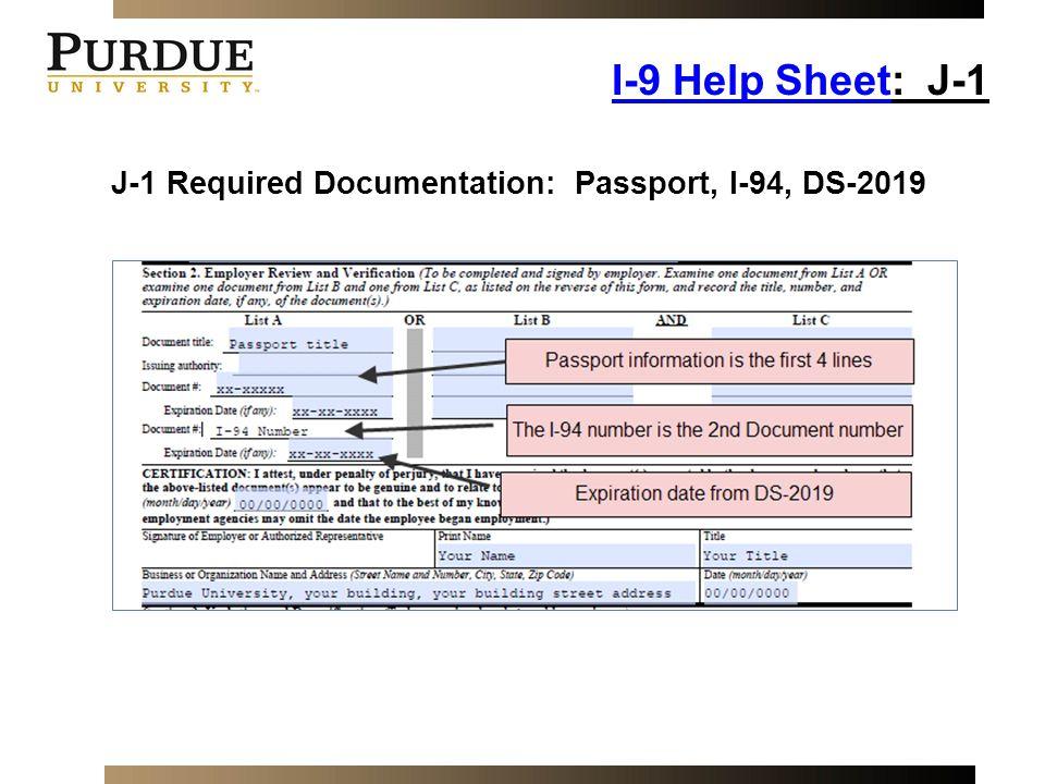 form i-9 help  Employment Eligibility Verification - ppt video online download