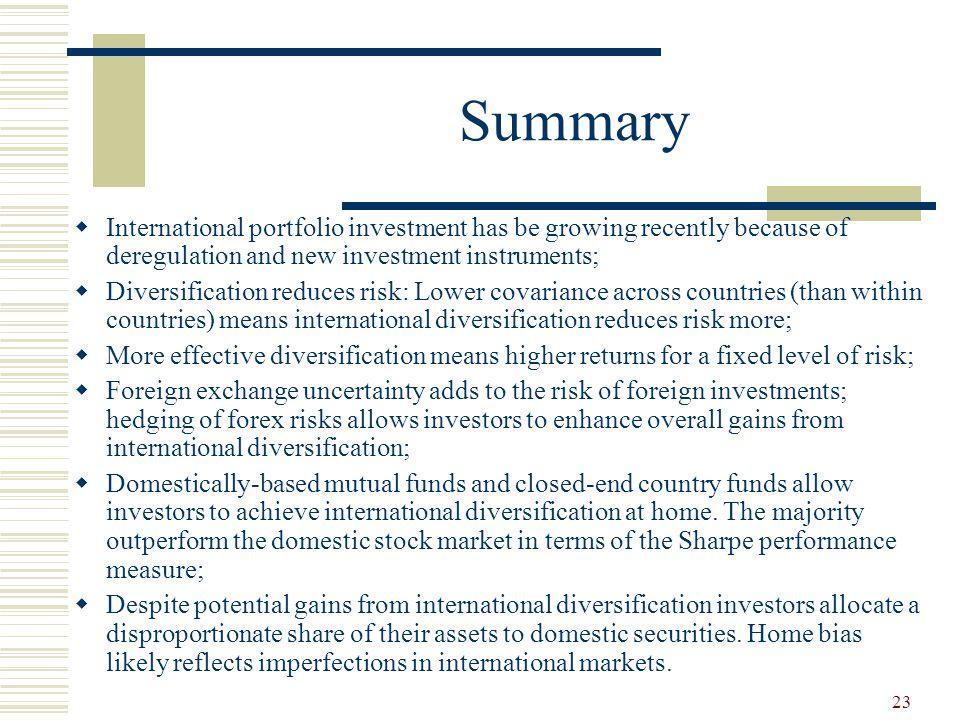 International portfolio investment definition demo akun forex
