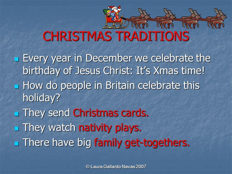 2 CHRISTMAS TRADITIONS ...