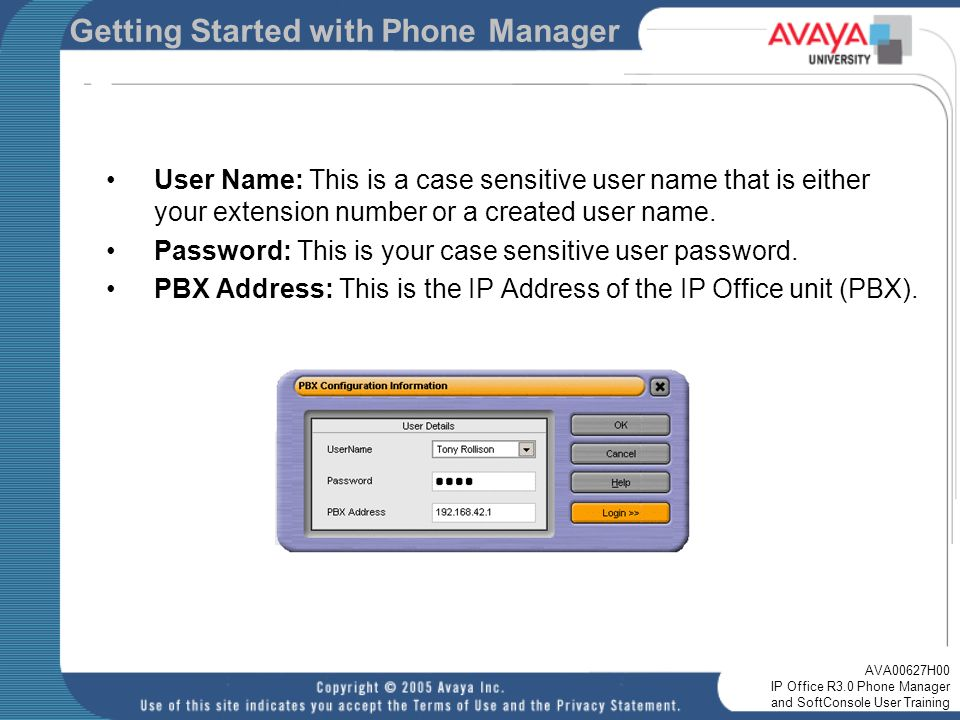 ip office r3 0 phone manager and softconsole user training ppt rh slideplayer com IP Office 401 avaya ip office softconsole user guide
