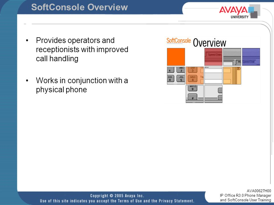 ip office r3 0 phone manager and softconsole user training ppt rh slideplayer com avaya ip office softconsole user guide Avaya IP Office System