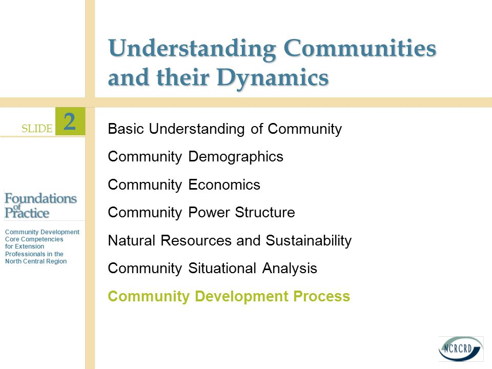 Understanding Communities and their Dynamics