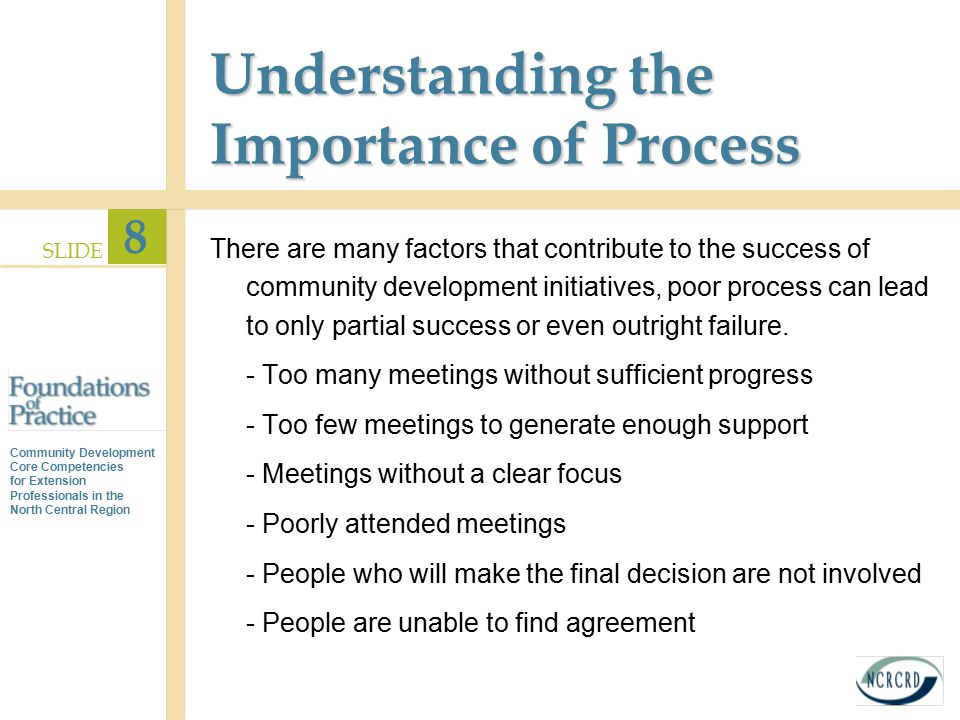 Understanding the Importance of Process
