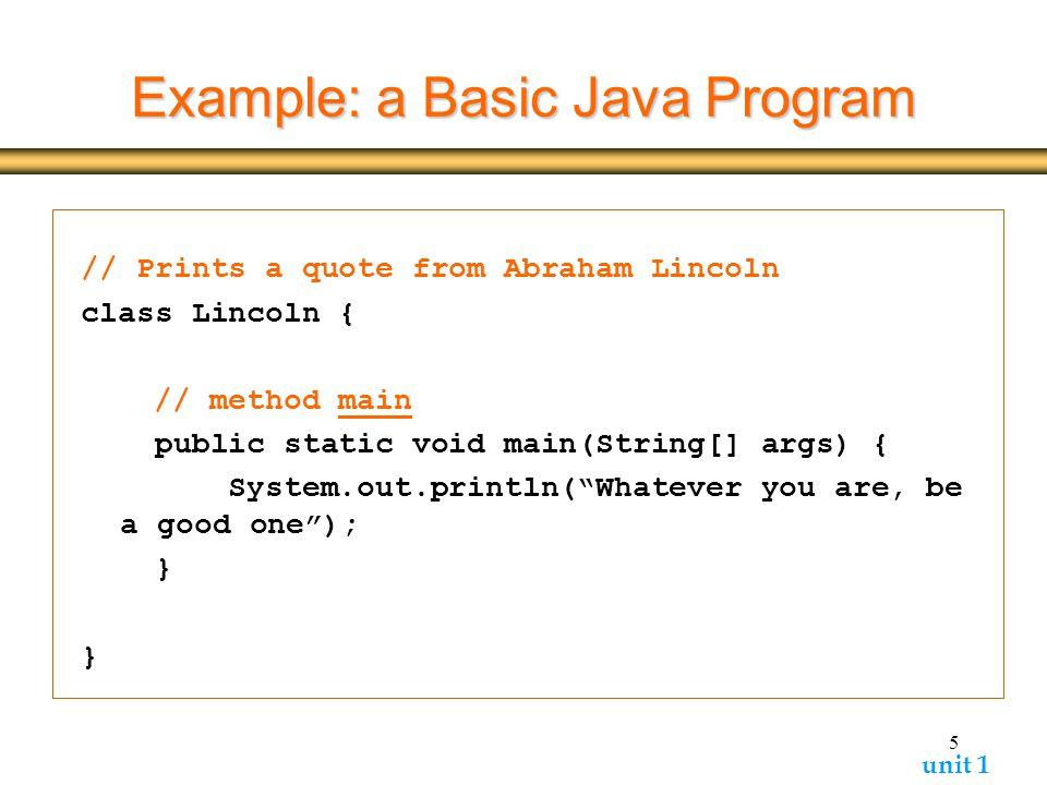 Java inheritance.
