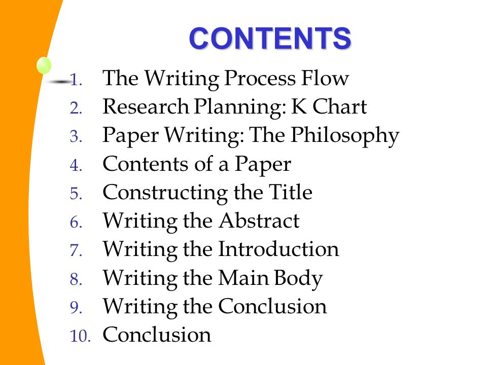 flow of research paper