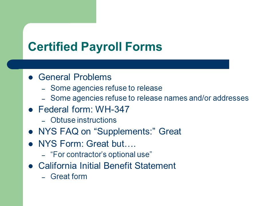 Benefits Fraud On Prevailing Wage Jobs Ppt Video Online Download