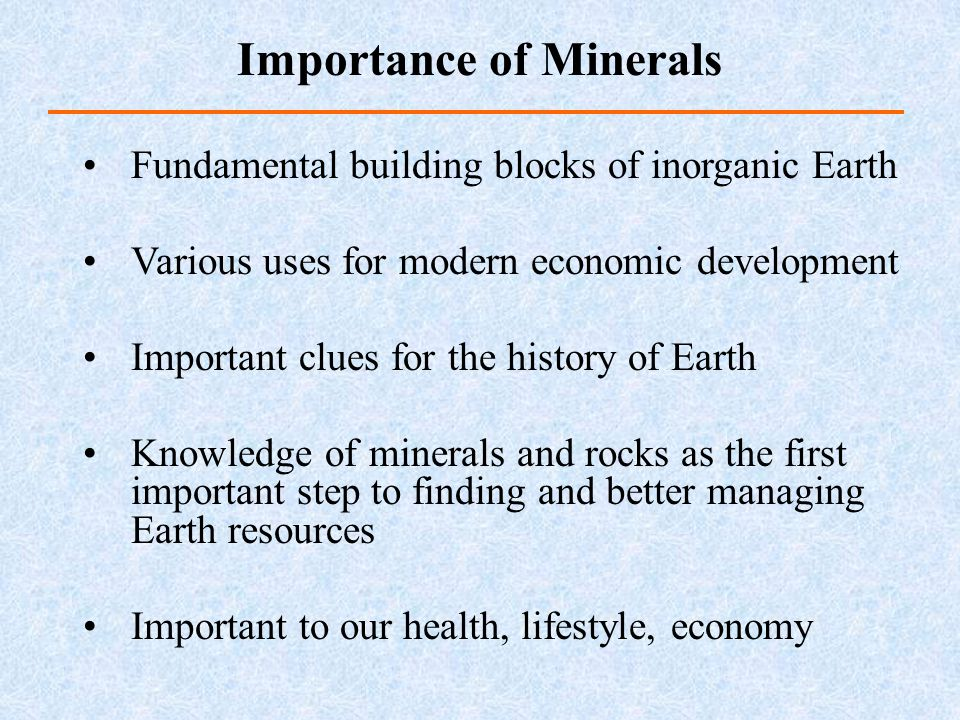 Minerals and Rocks Chapter ppt download