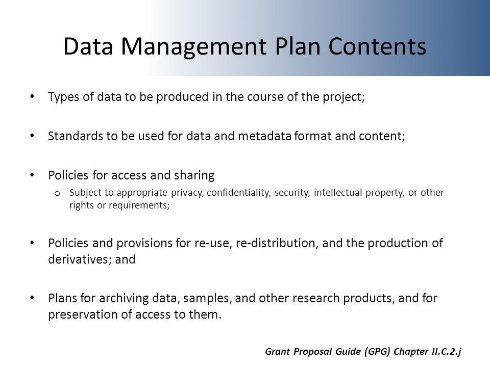 NSF Data Management Plan Requirements Alex Kanous - ppt video online ...