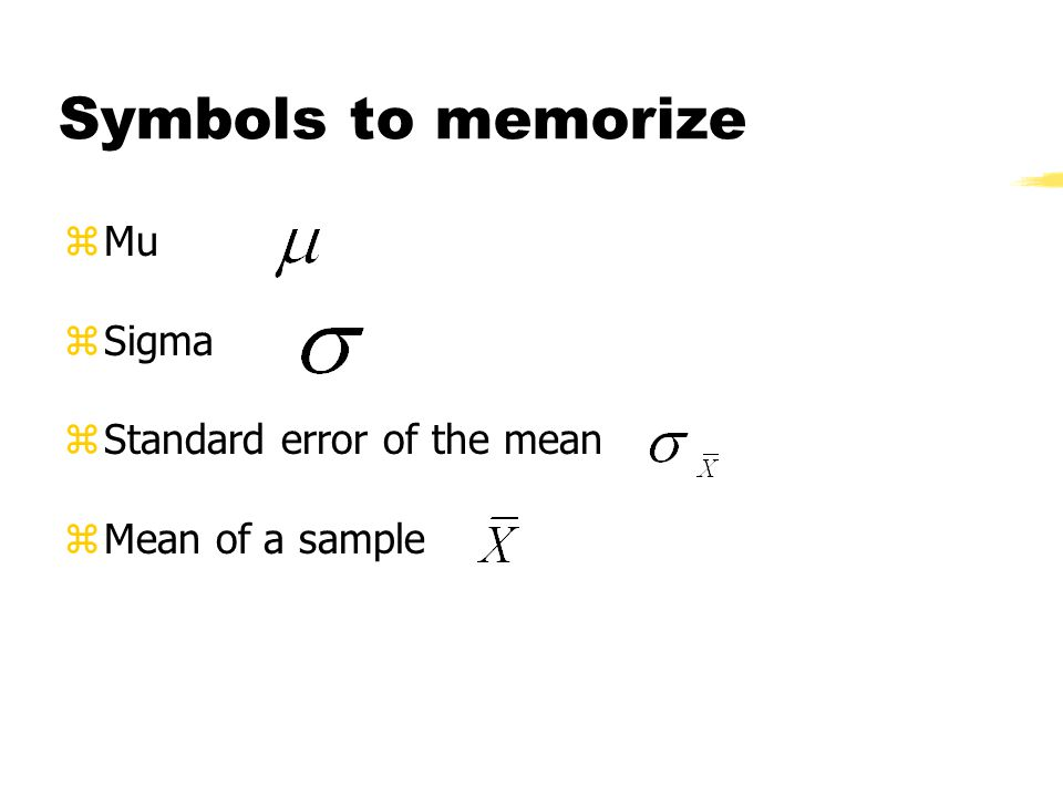 Chapter 4 Translating To And From Z Scores The Standard Error Of