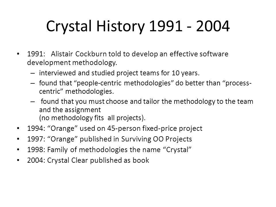 Crystal methodology cos 730.