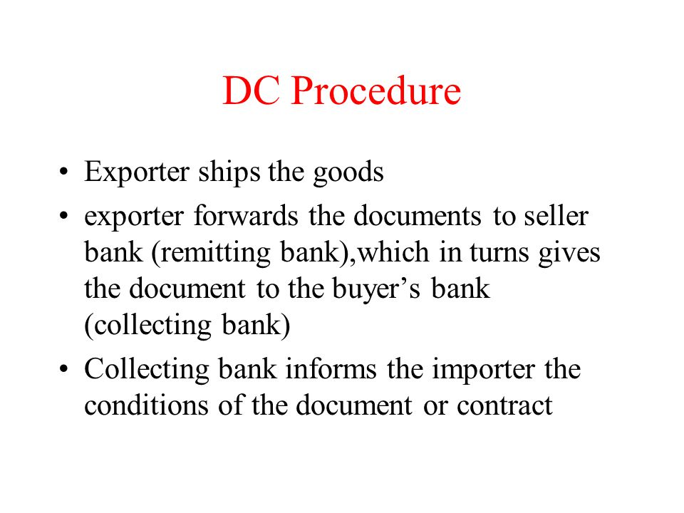 DC Procedure Exporter ships the goods