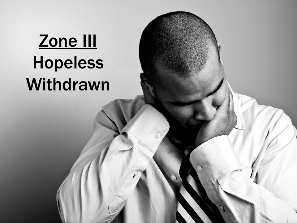 Zone III Hopeless Withdrawn