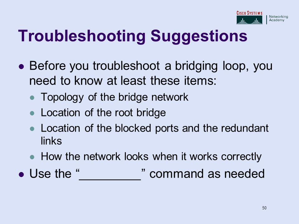 Spanning Tree protocol- Chapter 5 - ppt video online download