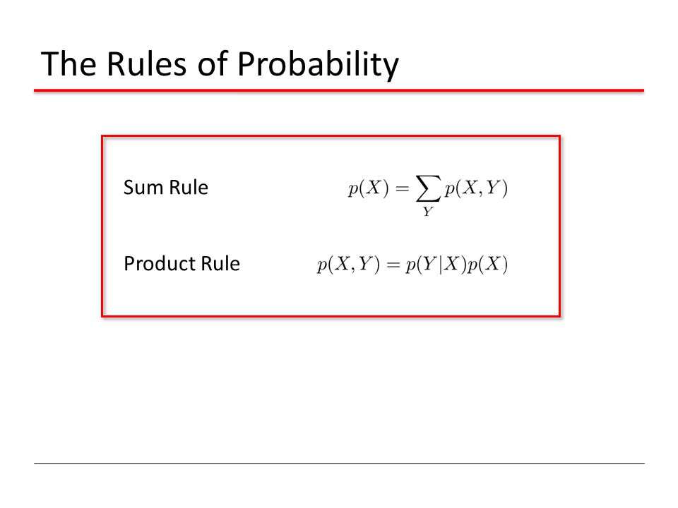 The Rules of Probability