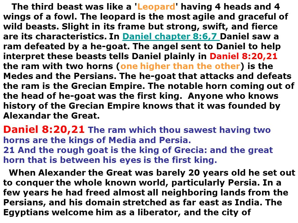 Times of the Gentiles Timeframe 1- Daniel 7 Rise; Reign; defeat of ...