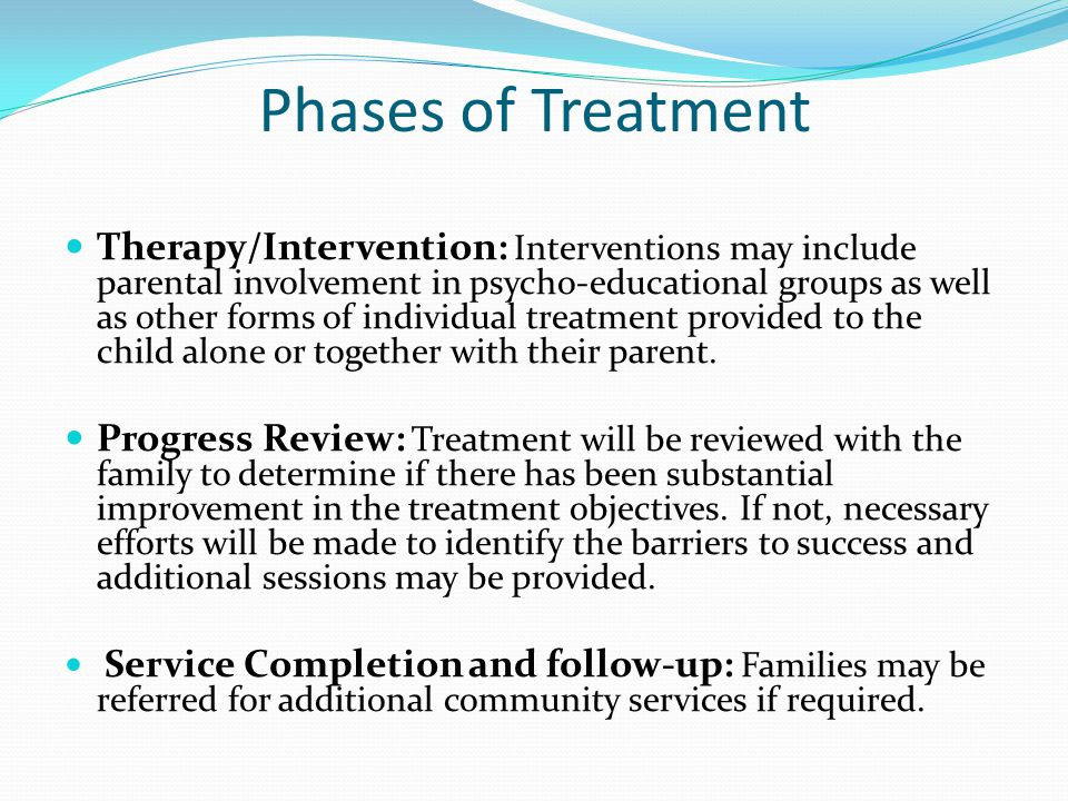 Phases of Treatment