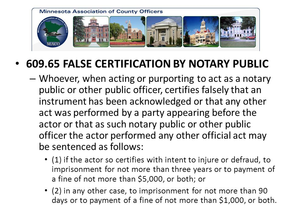 Introduction Notary Commissions Certifying or Attesting a Copy - ppt ...